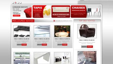 Template site e-commerce Prestashop