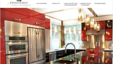 Site Web de Ébénisterie Saint-Georges