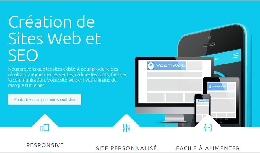 Yoomweb: sites web et SEO