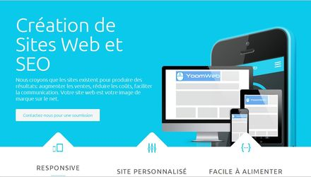 Yoomweb: sites web et SEO