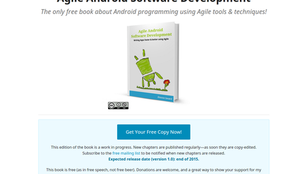 Agile Android Software Development - Site d'un livre auto-publié