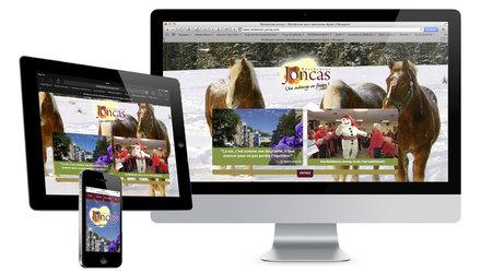 Site Web des Résidences Joncas