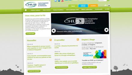 Site web du CHUS
