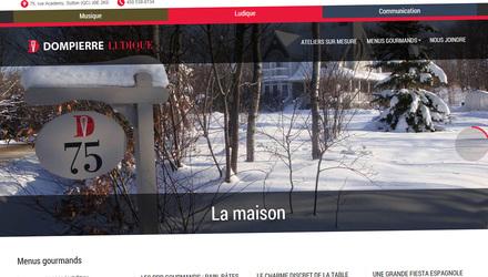 Site web de François Dompierre