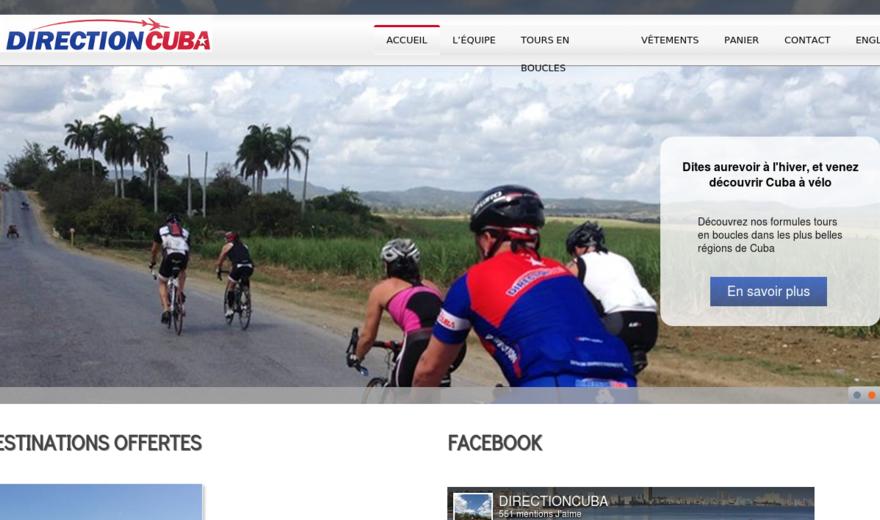 Direction Cuba