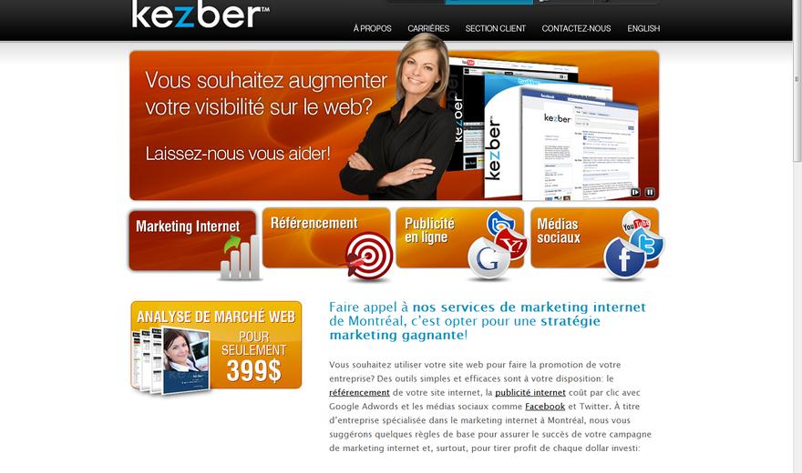 Kezber - Marketing Internet et Référencement