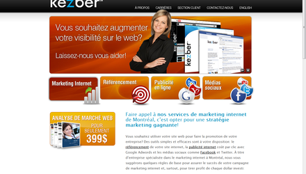 Kezber - Marketing Internet et Référencement