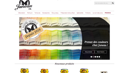 Boutique en ligne Magento