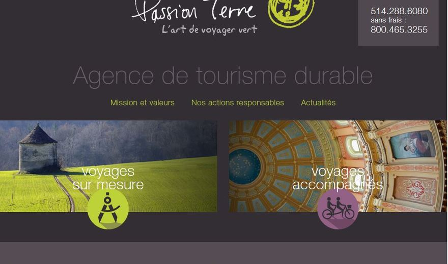 Agence voyages Passion Terre