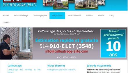Compagnie Calfeutrage Elite