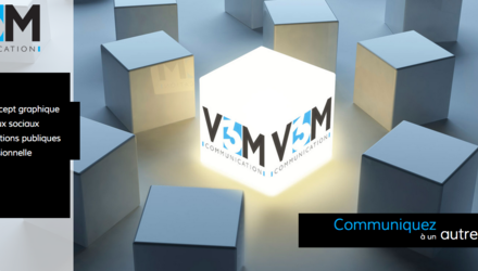 Site web de V3M Communication