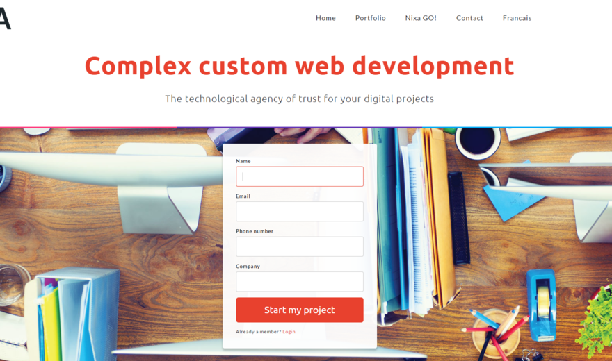 Nixa web development, design and web design