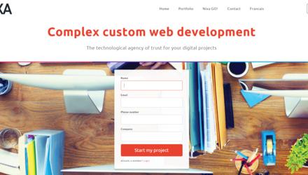 Nixa web development, design and web design