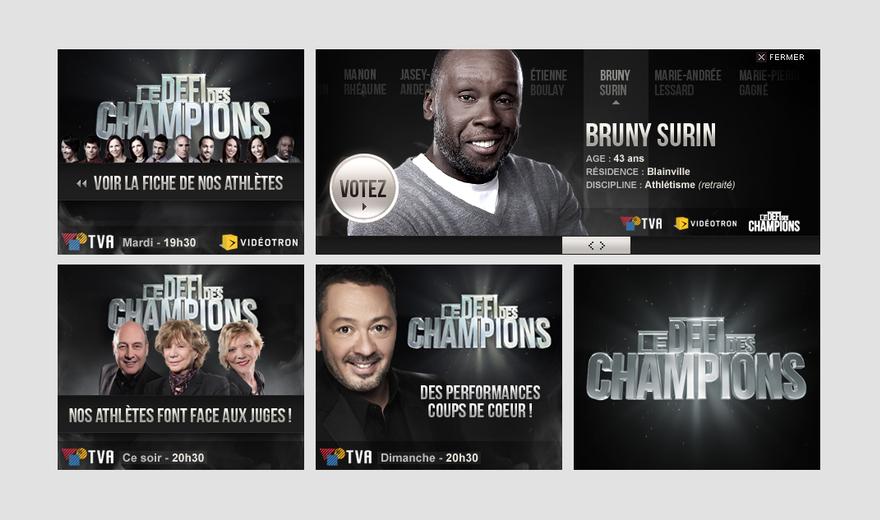 Bannière Défis des champions