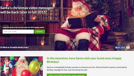 Père Noël Portable (e-commerce)