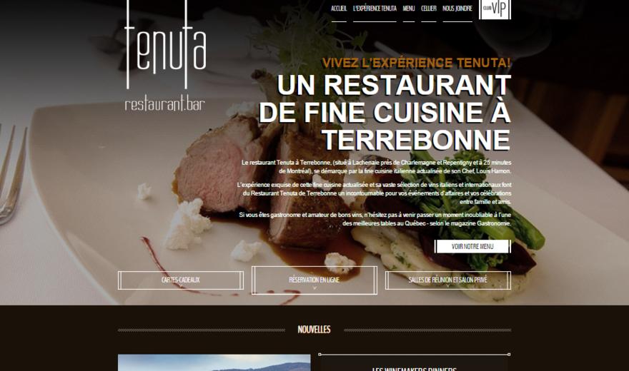 Conception de site web par Caméléon