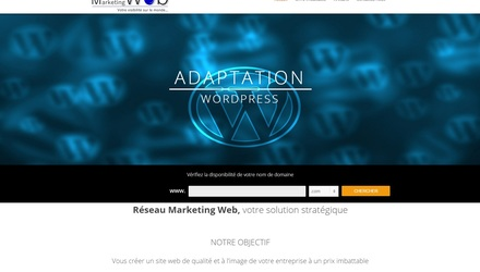 Réseau Marketing Web, adaptation de votre site web