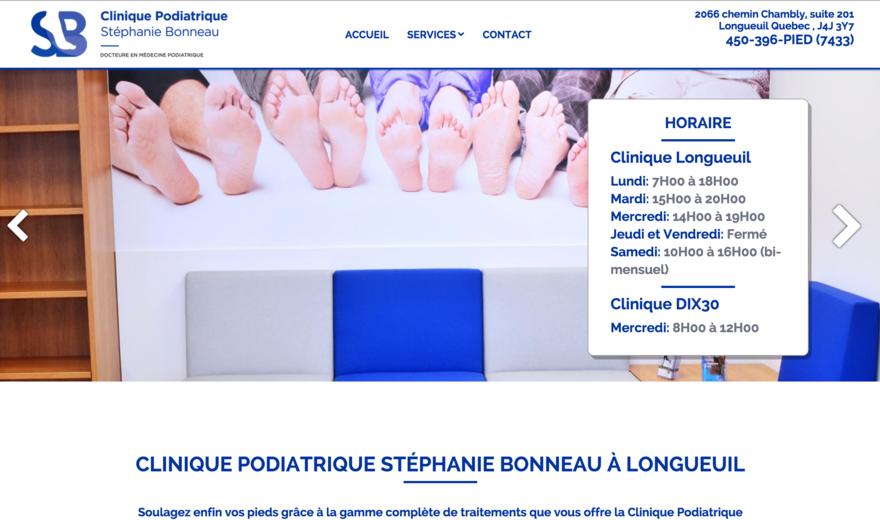 Clinique Podiatrique Stéphanie Bonneau