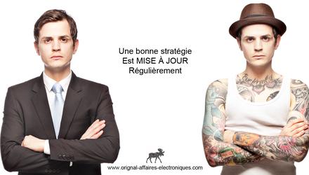 Stratégie marketing Web et affaires électroniques