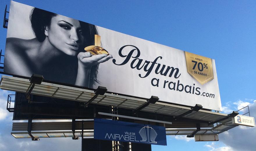 Super panneau - Parfum à rabais.com