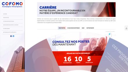 Site Carrière - COFOMO