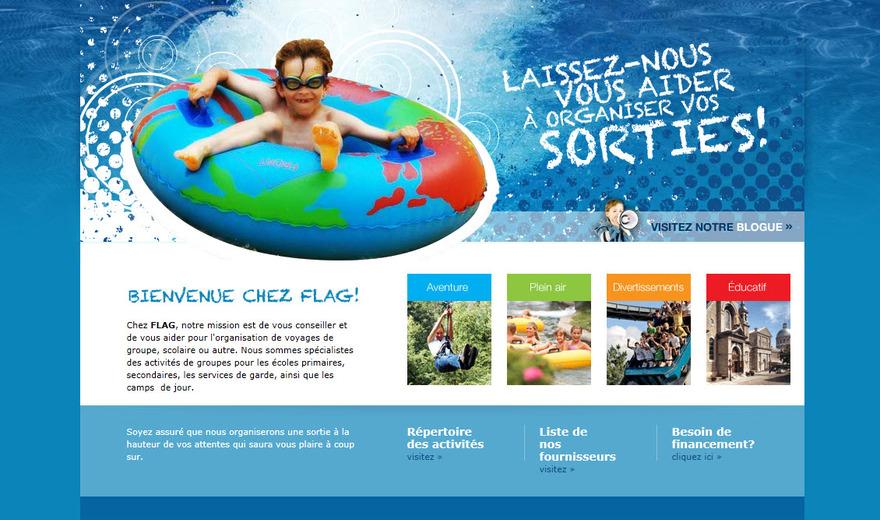 Conception site web Sherbrooke - Courtier en loisirs