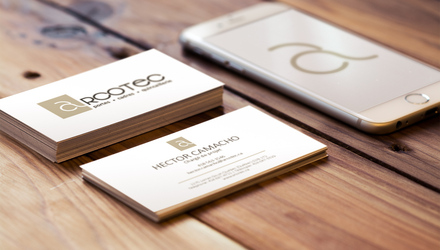 Logo, cartes professionnelles, applications mobiles