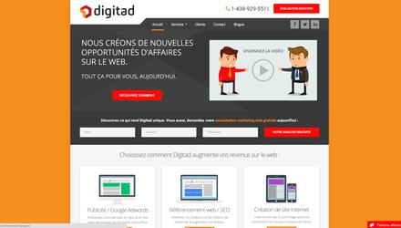 Site conçu pour le client : Digitad
