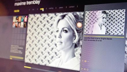 UN PHOTOGRAPHE BRANCHÉ - Site Web portfolio maximetremblay.com