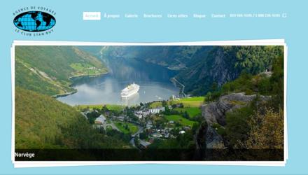 Site web de l'agence de voyages Le Club Stan-Buy