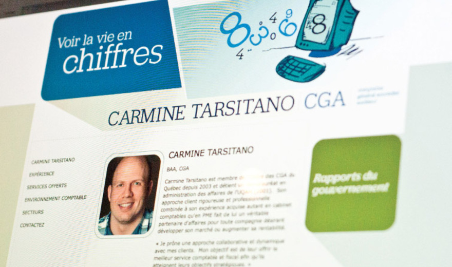 voir la vie en chiffres - Carmine Tarsitano, moncga.ca