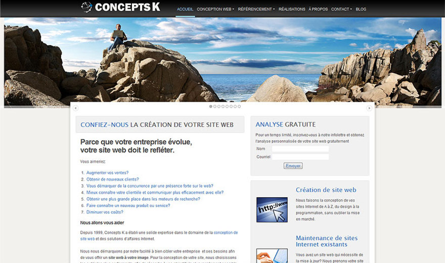 Concepts K - agence web