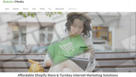 Développement site eCommerce