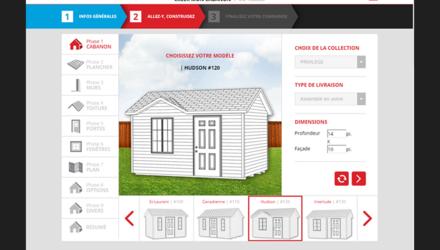 Cabanons - Construisez votre cabanon personnalisé