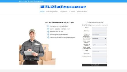 MTLdemenagement.ca - Un leader en matière de déménagement!