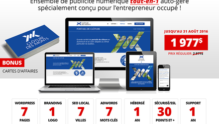 Conception de Site Web WordPress ★ TOUT-EN-1