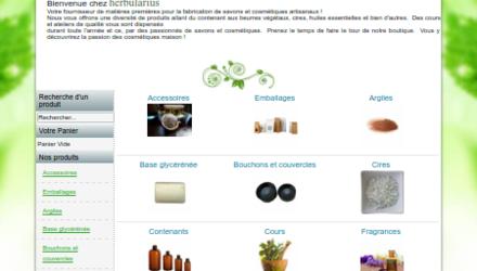 Site pour petit commerce en ligne