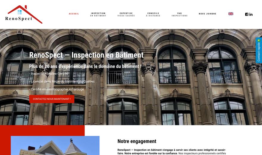 Site Web || Espace Urbain - STUDIO PHOTO