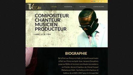 Site web chanteur montréal