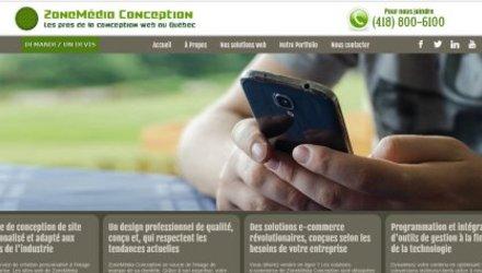 Site de ZoneMédia Conception