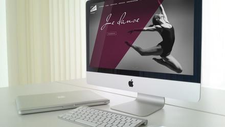 Site Web de l'Académie de danse de l'Outaouais
