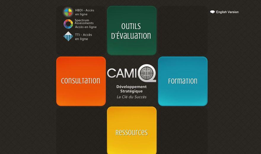 Site web de Camiq Inc.