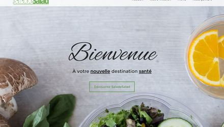SaladeSalad - Conception d'un site web