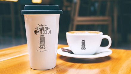 Logo boutique souvenir Château Montebello
