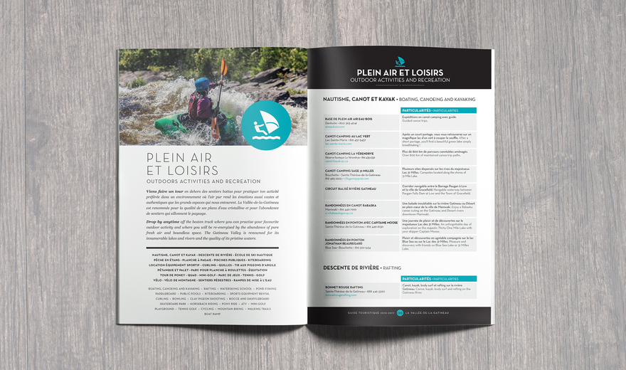 Guide Touristique VG 2016