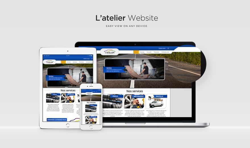 L'Atelier Gauthier site Web