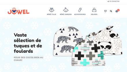 Jowel - Boutique en ligne de vêtements et accessoires pour bébés