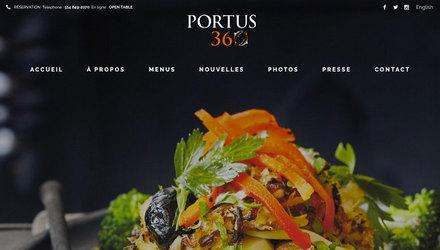 Portus 360 - Restaurant portugais à Montréal