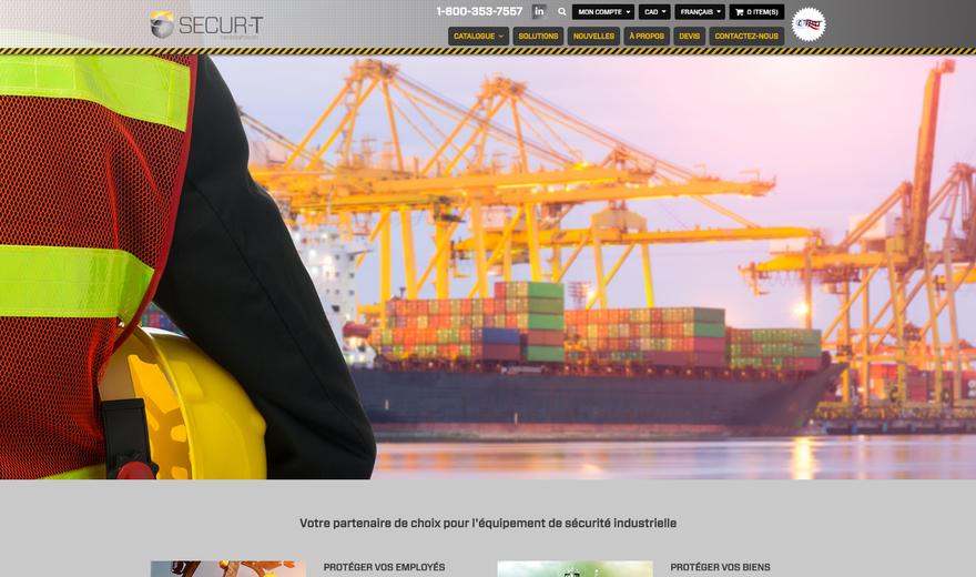 Boutique en ligne de produits industriel - Securt.ca