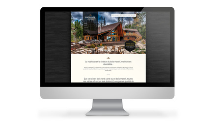 Habitation du Patriote - Site web
